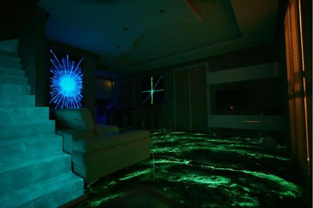 Vernici Fluorescenti Per Pareti.Pittura Luminescente Pittura Lavagna Glitter Cielo Stellato